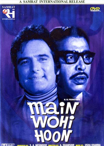 Main Wohi Hoon DVD Movie