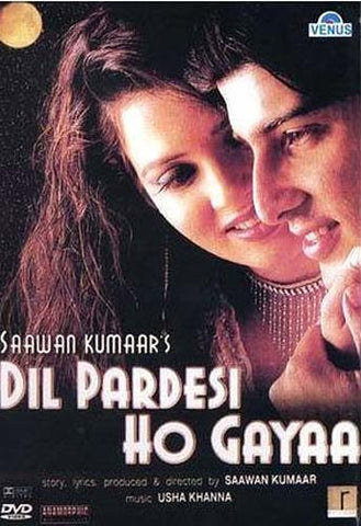 Dil Pardesi Ho Gayaa (Original Hindi Movie) DVD Movie
