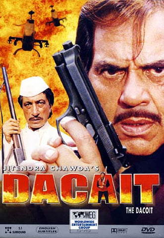 Dacait (Original Hindi Movie - Dharmendra) DVD Movie