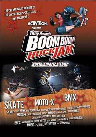 Tony Hawk's Boom Boom Huck Jam North American Tour DVD Movie