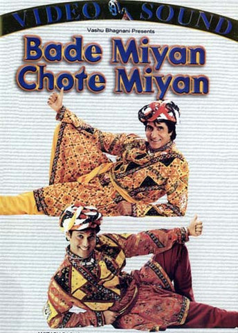 Bade Miyan Chote Miyan (Original Hindi Movie) DVD Movie
