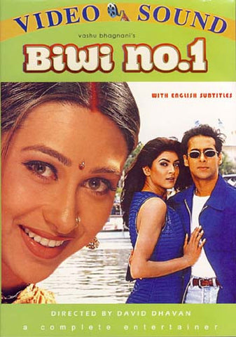 Biwi No.1 (Original Hindi Movie) DVD Movie