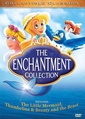 The Enchantment Collection: Beauty and the Beast, The Little Mermaid & Thumbelina (Boxset) DVD Movie