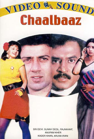 Chaalbaaz (Original Hindi Movie) DVD Movie