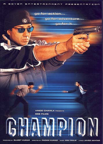 Champion (Original Hindi Movie) DVD Movie