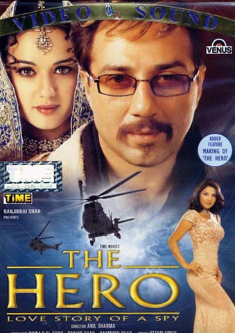 The Hero - Love Story of a Spy DVD Movie