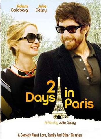 2 Days in Paris(bilingual) DVD Movie