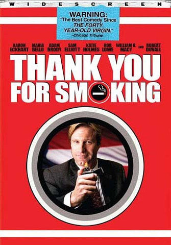Thank You for Smoking (Widescreen) DVD Movie
