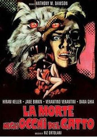 La Morte negli occhi del gatto DVD Movie