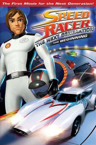 Speed Racer the Next Generation - The Beginning DVD Movie