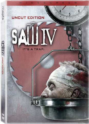 Saw IV (Uncut Widescreen Edition) DVD Movie