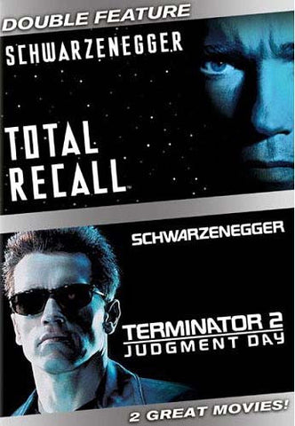 Total Recall / Terminator 2 - Judgment Day (Double Feature) DVD Movie