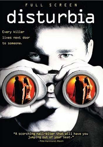 Disturbia (Full Screen) DVD Movie