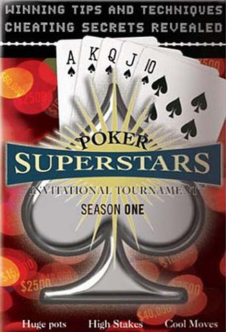 Poker Superstars Invitational Tournament - Season 1 (Boxset) DVD Movie