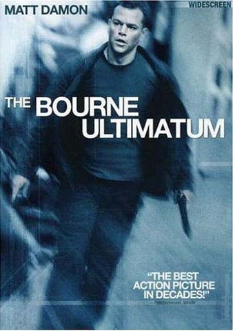 The Bourne Ultimatum (Widescreen Edition) DVD Movie