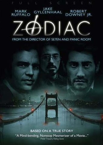 Zodiac (Full Screen Edition) (David Fincher) DVD Movie