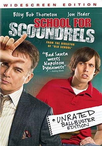 School for Scoundrels (Unrated Ballbuster Edition) (Widescreen Edtion) (Bilingual) DVD Movie