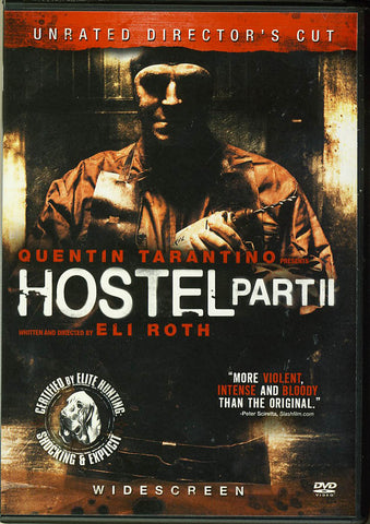 Hostel - Part II (Unrated - Director's Cut) (Widescreen) DVD Movie