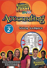 Standard Deviants School - Accounting, Program 2 - Using Ledgers (Classroom Edition)