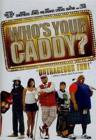 Who s Your Caddy?(Bilingual) DVD Movie