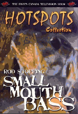 Rod Stopping Small Mouth Bass (Hotspots Collection) DVD Movie