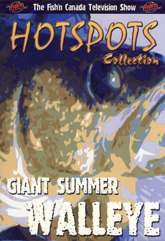 Giant Summer Walleye (Hotspots Collection) DVD Movie