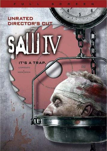 Saw IV (Uncut Full Screen Edition) DVD Movie