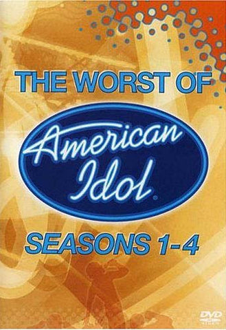 The Worst Of American Idol - Season 1-4 DVD Movie