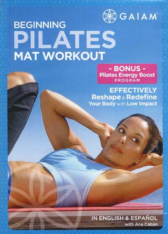 Pilates Beginning Mat Workout (Do not add without checking DVD) DVD Movie