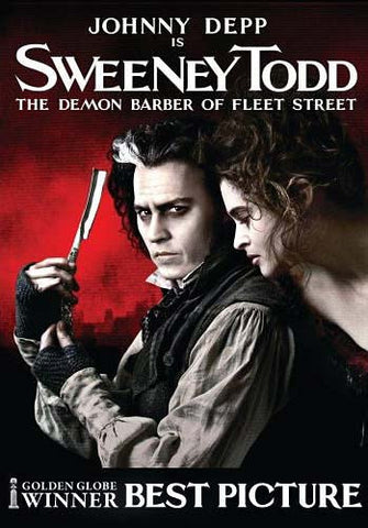 Sweeney Todd - The Demon Barber of Fleet Street (Johnny Depp) (Bilingual) DVD Movie