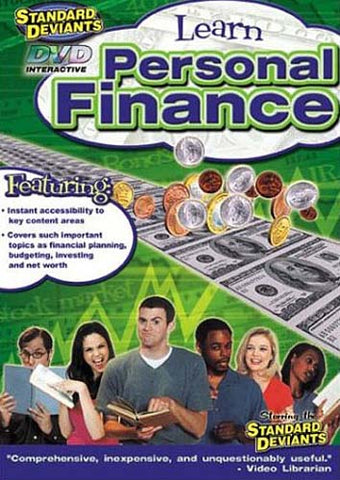 Standard Deviants - Learn Personal Finance DVD Movie