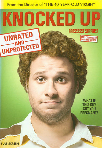 Knocked Up (Unrated Full Screen Edition) (Bilingual) DVD Movie