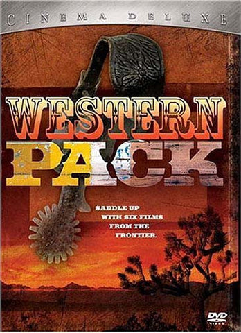 Western Pack Cinema Deluxe (Boxset) DVD Movie