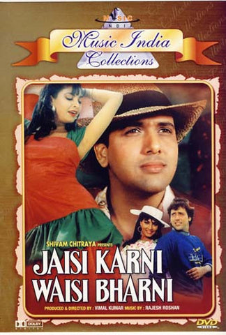 Jaisi Karni Waisi Bharni (Original Hindi Movie) DVD Movie