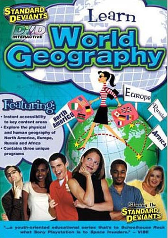 Standard Deviants - Learn World Geography DVD Movie