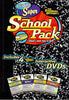 Standard Deviants - Super School Pack (Algebra 1/Spanish 1/Basic Math/Physics 1) (Boxset) DVD Movie