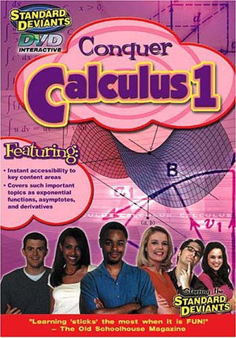 Standard Deviants - Conquer Calculus 1 DVD Movie