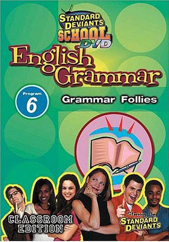 Standard Deviants School - English Grammar - Program 6 - Grammar Follies DVD Movie