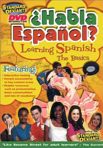 Standard Deviants - Habla Espanol - Learning Spanish - The Basics DVD Movie