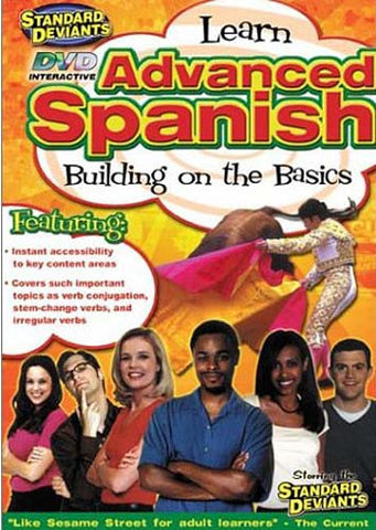 Standard Deviants - Learn Advanced Spanish - Building on the Basics DVD Movie