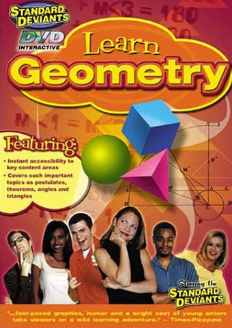 Standard Deviants - Learn Geometry DVD Movie