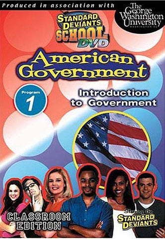 Standard Deviants School - American Government, Program 1 - Introduction to Government DVD Movie