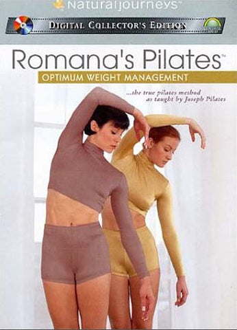 Romana's Pilates - Optimum Weight Management DVD Movie