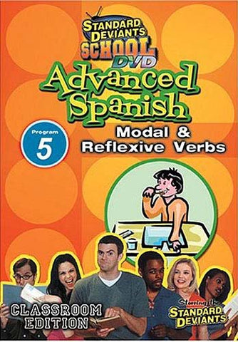 Standard Deviants School - Advanced Spanish - Program 5 - Modal and Reflexive Verbs DVD Movie