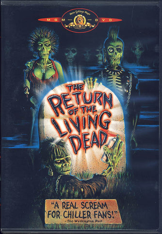 The Return of the Living Dead (MGM) DVD Movie