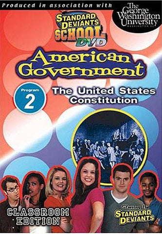 Standard Deviants School - American Government, Program 2 - The United States Constitution DVD Movie