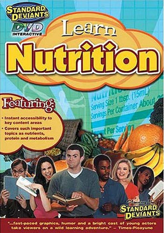 Standard Deviants - Learn Nutrition DVD Movie