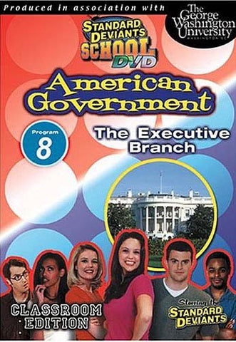 Standard Deviants School - American Government, Program 8 - The Executive Branch DVD Movie