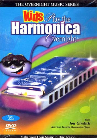 Kids Play The Harmonica Overnight DVD Movie