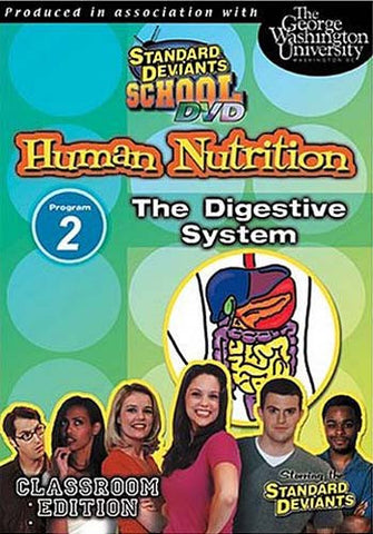 Standard Deviants School - Human Nutrition - Program 2 - The Digestive System DVD Movie
